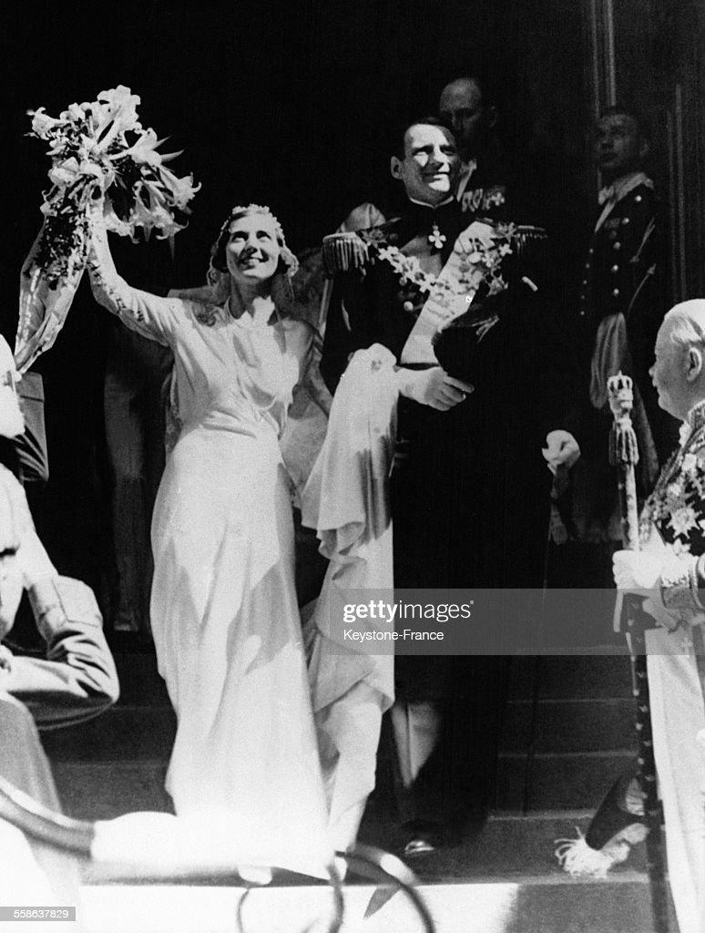 Mariage Princier A Stockholm : News Photo