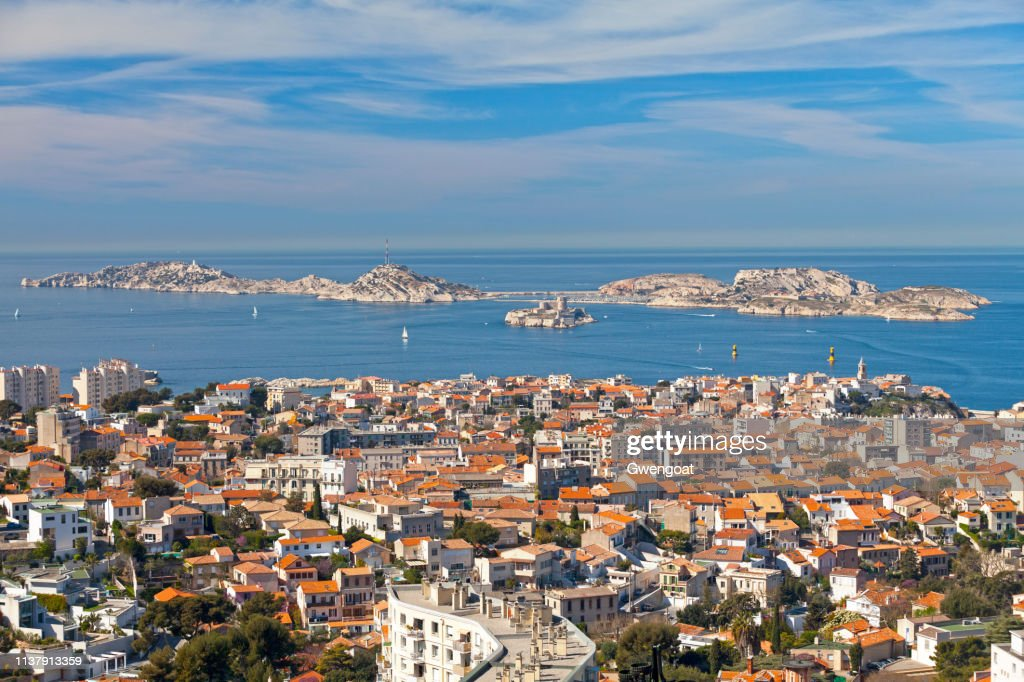Les Îles off the coast of Marseille : Stock Photo