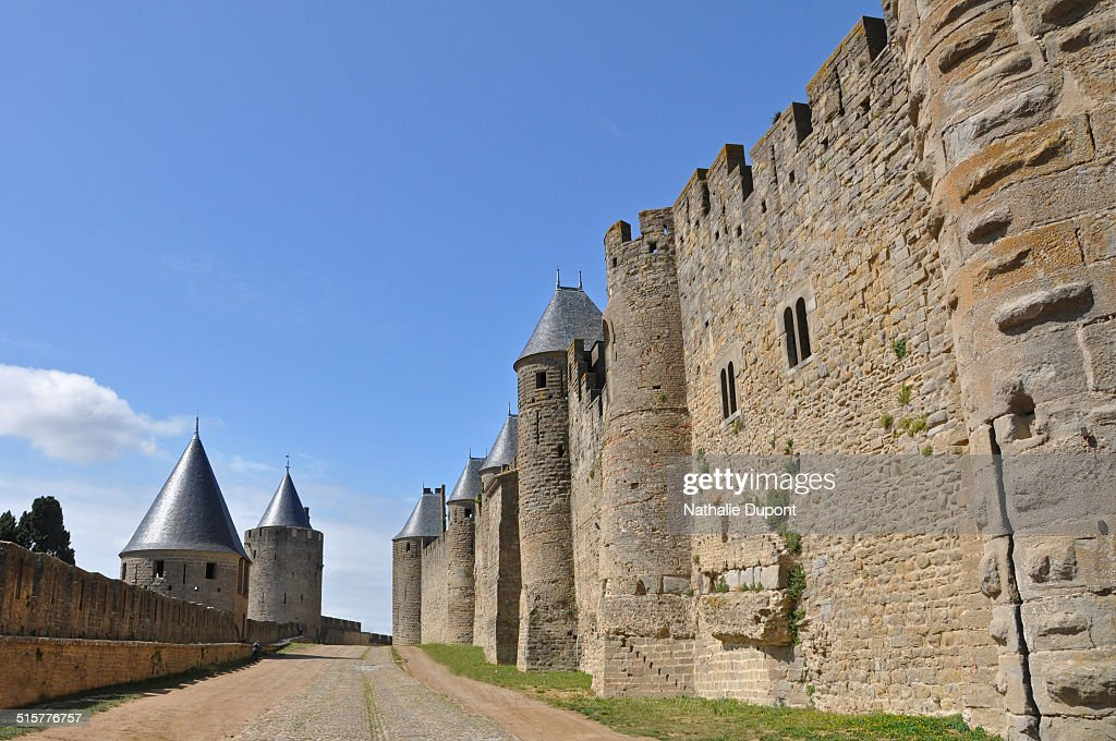 Lices des remparts de la cité de Carcassonne : News Photo