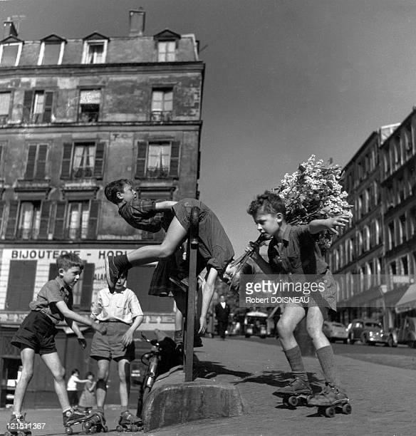 Les Lilas De Menilmontant Paris 1956
