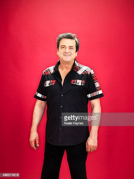 Les McKeown of pop band the Bay City Rollers are photographed for the for Daily Mail on September 24 2015 in London England