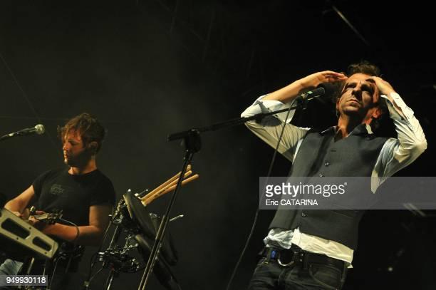 Les Mediterraneennes de Leucate Music Festival Belgian band Deus performing Live