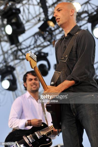 Les Mediterraneennes de Leucate Music Festival French band Saint Andre performing Live