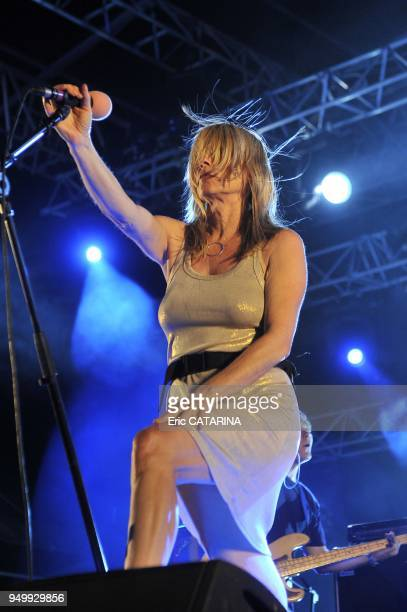 Les Mediterraneennes de Leucate Music Festival US Band Sonic Youth performing Live