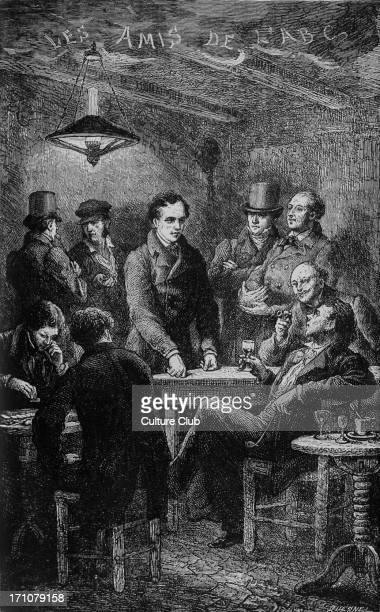 Les Miserables Les Miserables by Victor Hugo First published 1862 Original illustration by Emile Bayard Caption reads The friends of the A B C French...