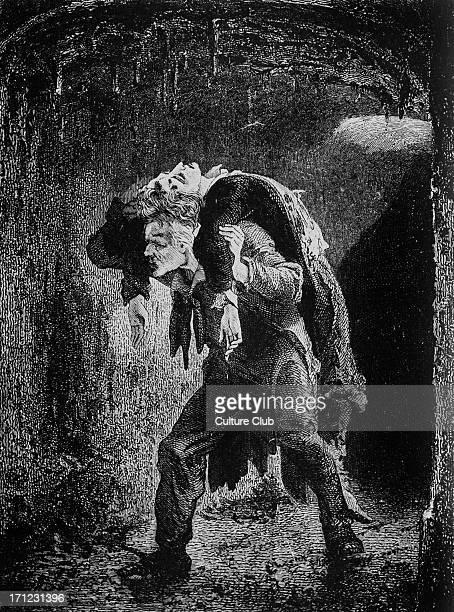 Les Miserables Les Miserables by Victor Hugo First published 1862 Original illustration by Emile Bayard Caption reads Jean Valjean French poet...