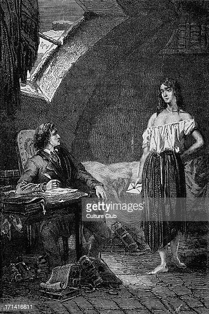 Les Miserables Les Miserables by Victor Hugo First published 1862 Original illustration by Emile Bayard Caption reads A rose in misery French poet...