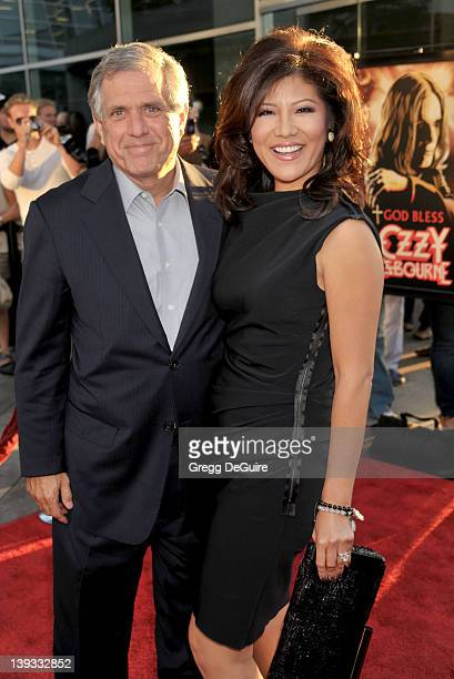 Les Moonves and Julie Chen arrive at the Los Angeles Premiere of God Bless Ozzy Osbourne at the ArcLight Cinerama Dome on August 22 2011 in Hollywood...