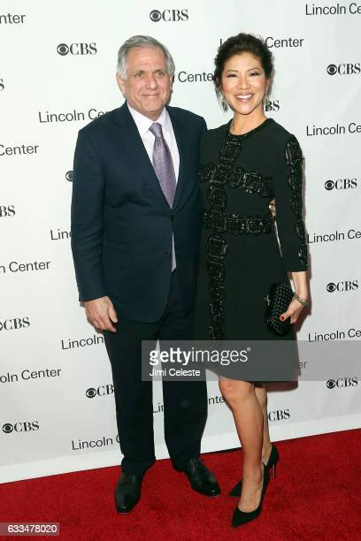 Les Moonves and Julie Chen attend the 2017 American Songbook Gala at Alice Tully Hall on February 1 2017 in New York City