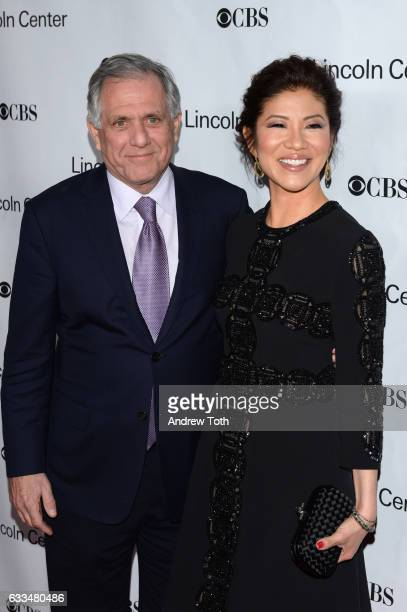 Les Moonves and Julie Chen attend the 2017 American Songbook Gala at Alice Tully Hall Lincoln Center on February 1 2017 in New York City