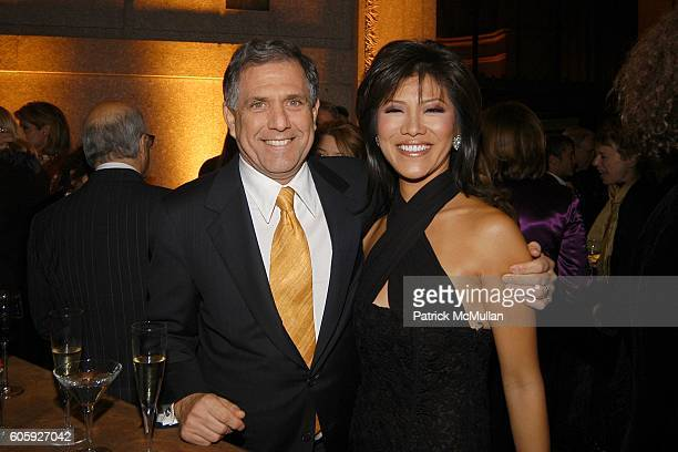 Les Moonves and Julie Chen attend VANITY FAIR Tribeca Film Festival Party hosted by Graydon Carter and Robert DeNiro at The State Supreme Courthouse...