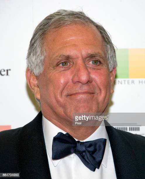 Les Moonves Chairman of the Board President and Chief Executive Officer of CBS Corporation arrives for the formal Artist's Dinner hosted by United...