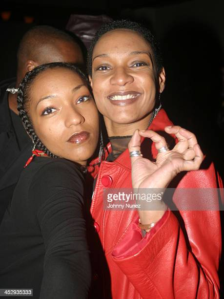 Les Nubians during Rza and Trace Magazine Host Kill Bill Vol 2 Private Screening at Tribeca Screening Room in New York City New York United States