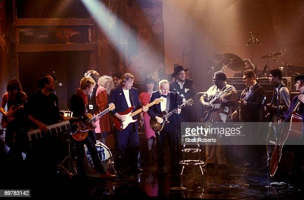 Les Paul Tribute Concert Eddie Van Halen, Jan Hammer, Brian Setzer, Jim Phantom, David Gilmour, Jessie Colter, Les Paul, Waylon Jennings, BB King,...