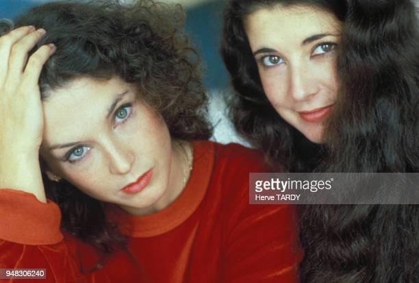 Les pianistes françaises Marielle et Katia Labèque en France