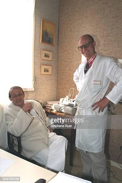 Les professeurs Lucht et Peyramond.
