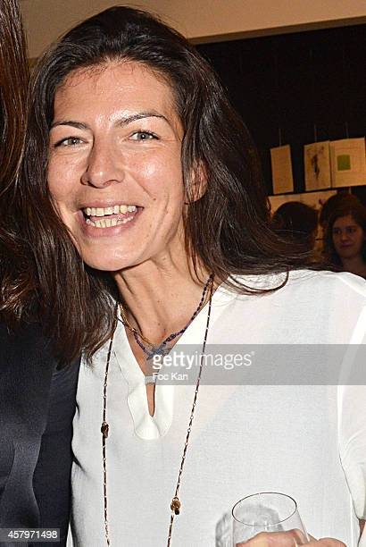 Les P'tits Cracks' director and Skin cofounder Anne Sophie Terakopiantz attends the 'Skin Fais Moi Ma Peau' Against Women Breast Cancer Auction...