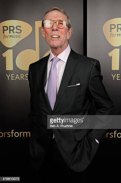 Les Reed attends PRS for Music 100 Years of Music VIP launch at Getty Images Gallery on March 5 2014 in London England