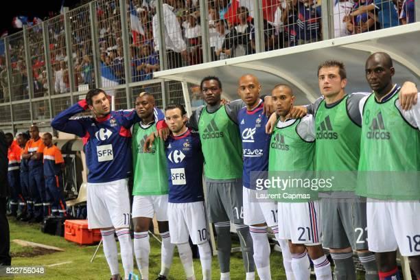 Andre Pierre GIGNAC / Djibril CISSE / Mathieu VALBUENA / Steve MANDANDA / Thierry HENRY / Gael CLICHY / Cedric CARRASSO / Alou DIARRA France / Chine...