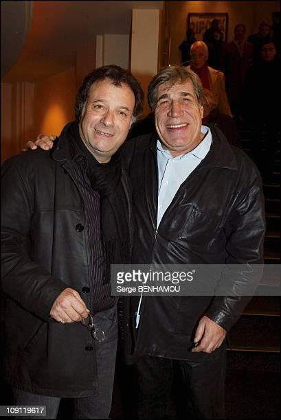 Les Ripoux 3 Premiere On December 8 2003 In Paris France Daniel Russo And JeanPierre Castaldi