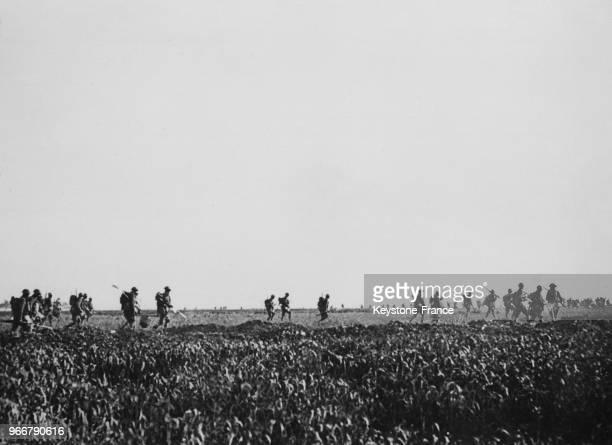 Les soldats américains à Coutigny France le 28 mai 1918
