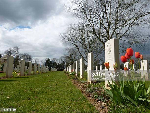 CONTENT] Les soldats canadiens tués lors des premières semaines de la bataille de Normandie pendant la seconde guerre mondiale reposent dans le...