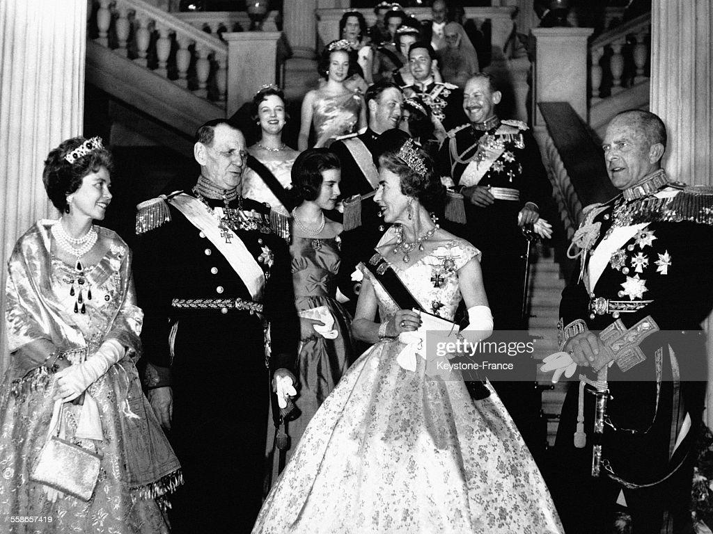 La famille royale danoise à Athènes : News Photo