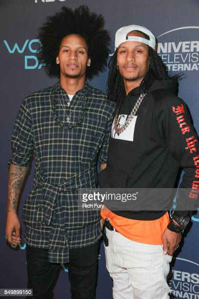 Les Twins attend NBC's 'World Of Dance' Celebration at Delilah on September 19 2017 in West Hollywood California