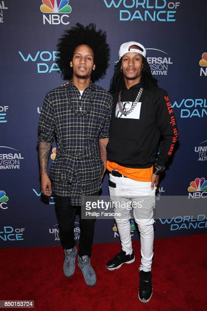 Les Twins attend NBC's World of Dance celebration at Delilah on September 19 2017 in West Hollywood California