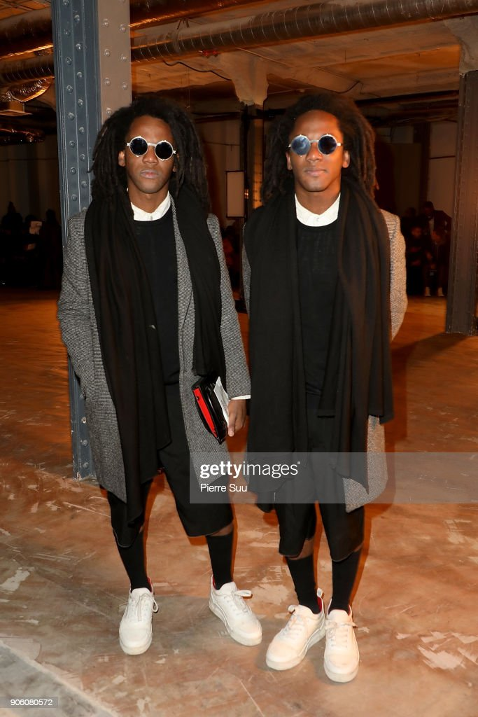 Facetasm : Front Row - Paris Fashion Week - Menswear F/W 2018-2019
