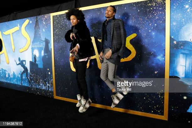 Les Twins attend the world premiere of Cats at Alice Tully Hall Lincoln Center on December 16 2019 in New York City