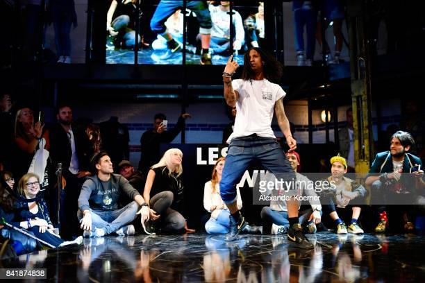 Les Twins perform at Hilfiger Denim Lab during the Bread Butter by Zalando at arena Berlin on September 2 2017 in Berlin Germany