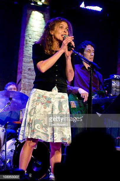 Lesa Aldridge performing at 'Channelling Alex A Night of Alex Chilton Music' an Alex Chilton tribute held at the City Winery on July 28 2010 in New...