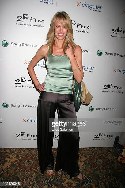 Lesa Amoore during Sony Ericsson and Cingular Wireless Present The 2 B Free Fall 2006 Collection Red Carpet at Regent Beverly Wilshire in Beverly...