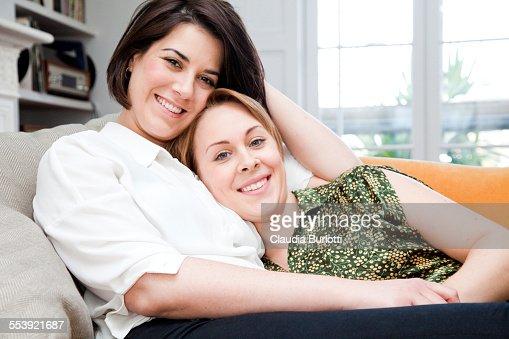 Cuddling lesbians