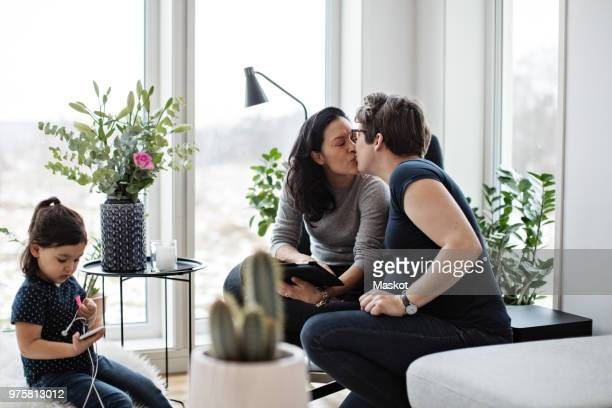 Worlds Best Lesbian Girls Kissing Mom Stock Pictures, Photos, And Images - Getty Images-4036