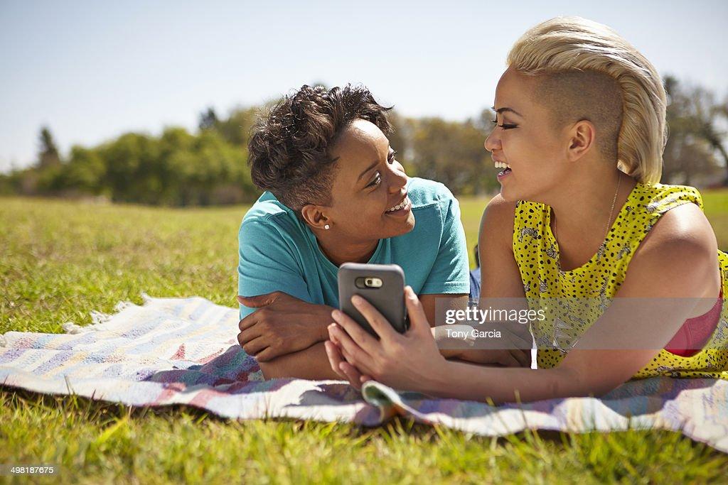 Lesbian picnic video