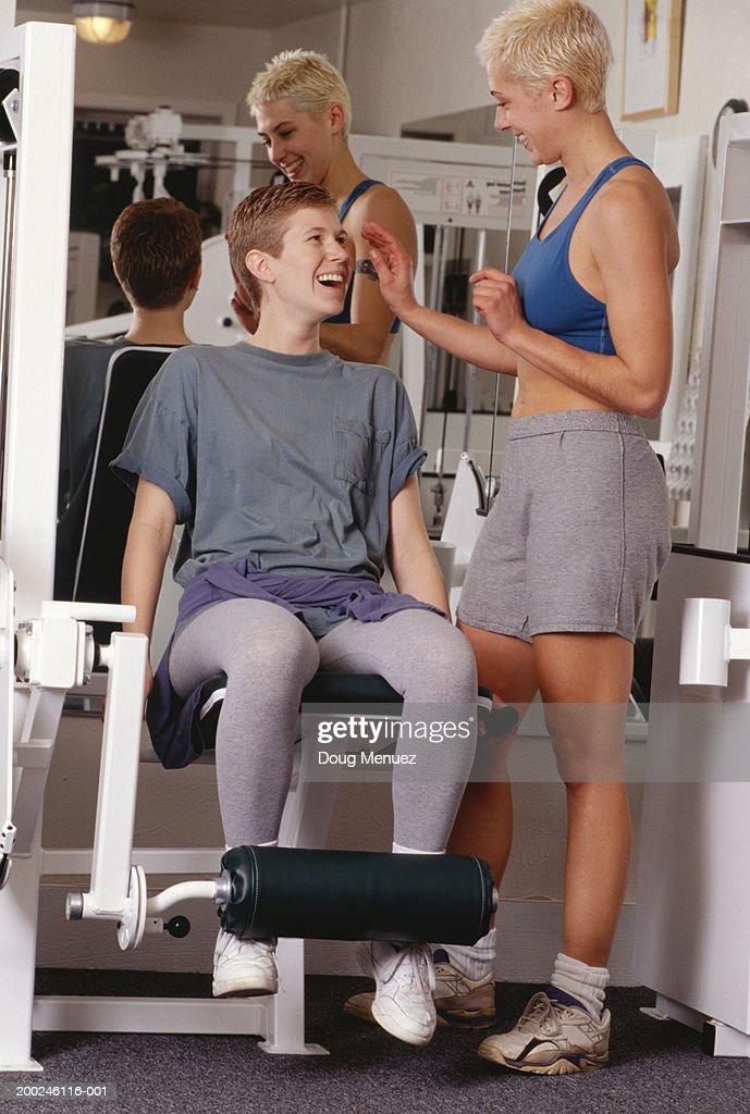 Gym lesbian gallery
