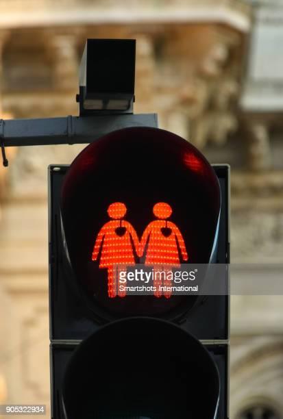 Lesbian traffic light