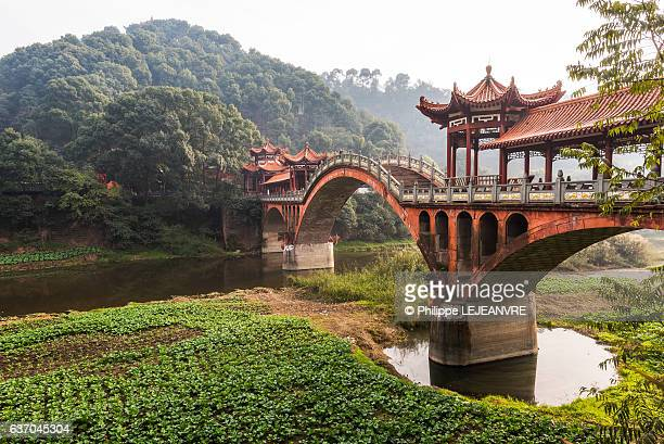 Leshan - Chengdu - ZhuoYing ancient bridge - China