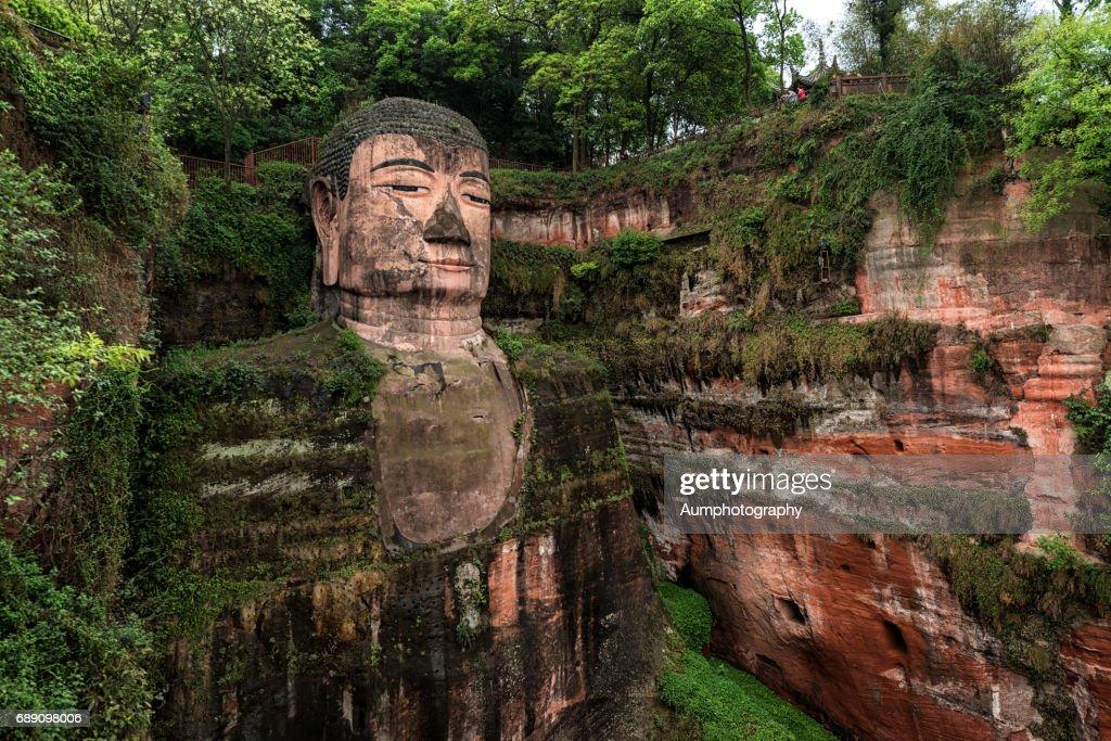 Leshan Giant Buddha : Stock Photo