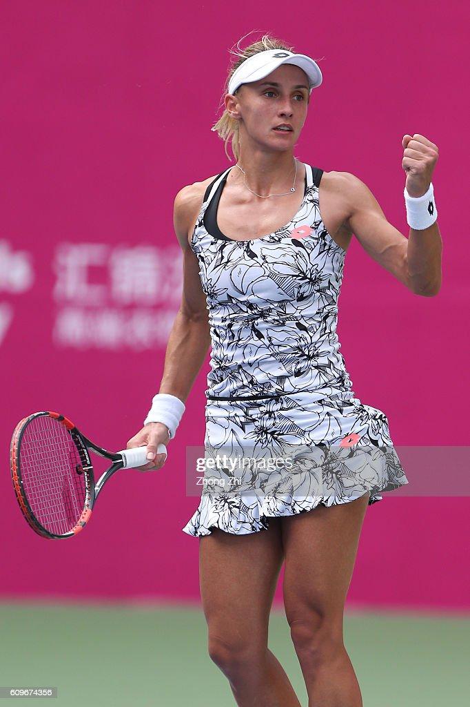 2016 WTA Guangzhou Open - Day 4 : News Photo