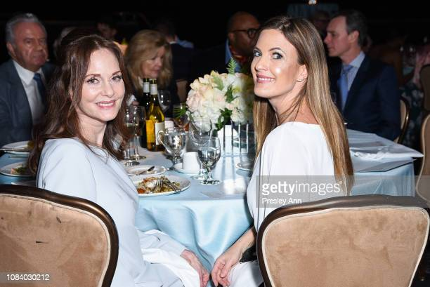 Lesley Ann Warren and Daniella Peters attends American Ballet Theatre's Annual Holiday Benefit Inside at The Beverly Hilton Hotel on December 17 2018...