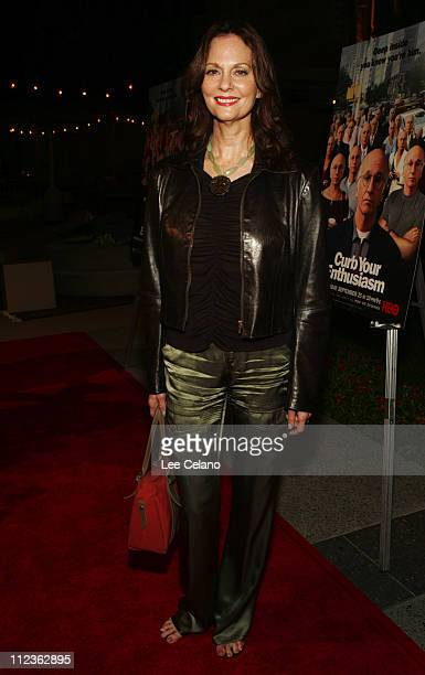 Lesley Ann Warren during Curb Your Enthusiasm Season 5 Los Angeles Premiere Red Carpet at Paramount Studios in Hollywood California United States