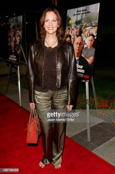 Lesley Ann Warren during Curb Your Enthusiasm Season 5 Premiere Screening Red Carpet at Paramount Theater at Paramount Pictures Lot in Hollywood...