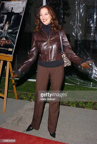 Lesley Ann Warren during HBO's Carnivale Season 2 Premiere Arrivals at Paramount Studios in Hollywood California United States