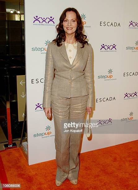 Lesley Ann Warren during Step Up Women's Network Inspiration Awards Sponsored by Escada Arrivals at Beverly Hilton Hotel in Beverly Hills California...