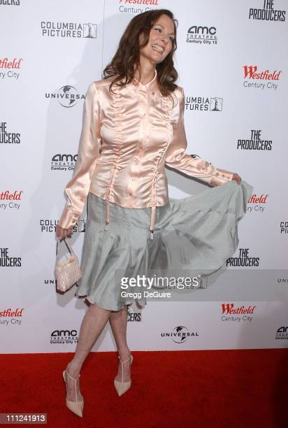 Lesley Ann Warren during Universal Pictures' The Producers World Premiere Arrivals at Westfield Century City in Century City California United States