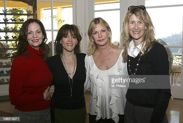 Lesley Ann Warren Marianne Williamson Lyn Lear and Laura Dern