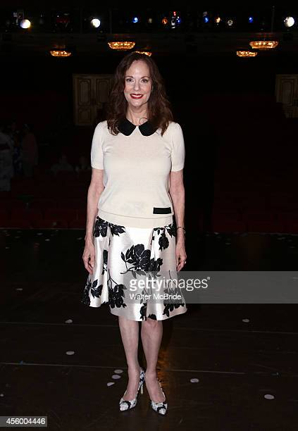 Lesley Ann Warren visits backstage at Rodgers Hammerstein's Cinderella at the Broadway Theatre on September 23 2014 in New York City